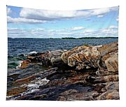 Rocky Point - Wreck Island Tapestry