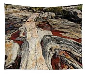 Rocky Pools - Wreck Island Tapestry