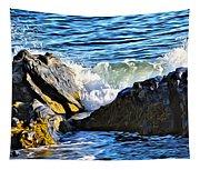 Rocky Shore 1 Tapestry