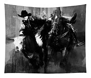 Rodeo In Black Tapestry