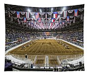 Rodeo Time In Texas Tapestry