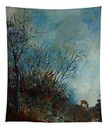Roedeer In The Morning Tapestry