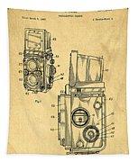 Rolleiflex Medium Format Twin Lens Reflex Tlr Patent Tapestry