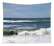 Rolling Ashore Tapestry