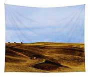 Rolling Hills Of Hay Tapestry
