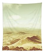 Rolling Rural Hills Of Zeehan Tapestry