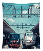 Roma Termini Railway Station Tapestry