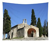 Romanesque Chapel Saint Sixte  Tapestry