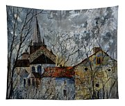 Romanesque Church  Tapestry