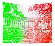 Rome - Altar Of The Fatherland Colorsplash Tapestry