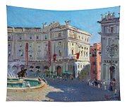 Rome Piazza Republica Tapestry