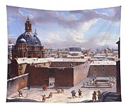 Rome Under The Snow Tapestry