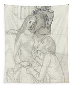 Romeo And Juliet, With Friar Lawrence Tapestry
