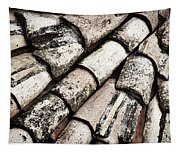 Roof Tile Abstract Tapestry