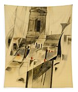 Roofs And Steeple Tapestry