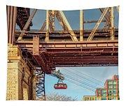 Roosevelt Tram Underneath The 59 St Bridge Tapestry