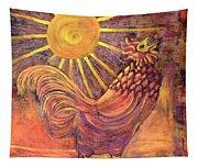 Rooster Batik Tapestry