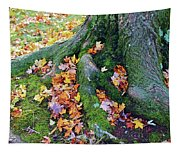 Roots And Leaves Tapestry