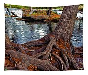 Roots On The River Tapestry