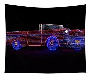 Rope Light Art 1957 Chevy Tapestry