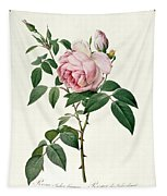Rosa Chinensis And Rosa Gigantea Tapestry