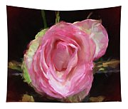 Rosa Rose Portrait Tapestry