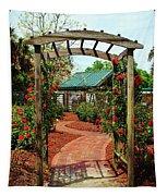 Rose Garden Entrance Tapestry