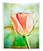 Rose In Window Tapestry