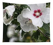 Rose Of Sharon And Bee Tapestry