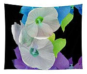 Rose Of Sharon Painted Tapestry