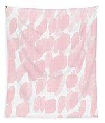 Rose Rain- Art By Linda Woods Tapestry by Linda Woods