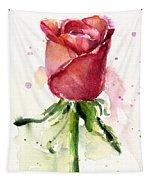 Rose Watercolor Tapestry by Olga Shvartsur