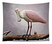 Roseate Spoonbill Costa Rica Tapestry