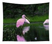 Roseate Spoonbill Tapestry