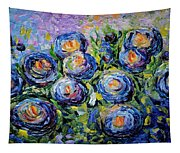 Roses Are Blue  Tapestry