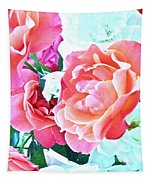 Roses Galore Tapestry