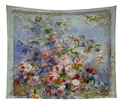 Roses In A Window Tapestry