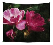 Roses With Texture Tapestry