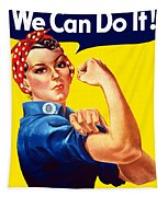 Rosie The Rivetor Tapestry by War Is Hell Store