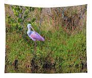 Rosie The Spoonbill Tapestry