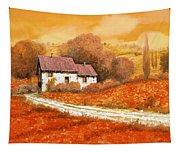 Rosso Papavero Tapestry