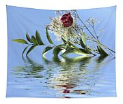 Rosy Reflection  Tapestry