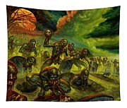 Rotten Souls Taint The Land Tapestry
