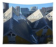 Rotterdam - The Cube Houses And Skyline Tapestry