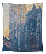Rouen Cathedral, The Portal, Morning Tapestry