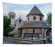 Round Church. Cambridge. Tapestry
