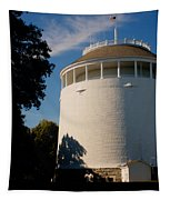 Round Water Tank In The Sun Tapestry