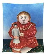 Rousseau: Child/doll, C1906 Tapestry