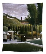 Rousseau: House, C1900 Tapestry