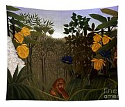 Rousseau: Lion Tapestry